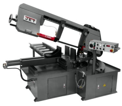 "Jet 13""x32"" EVS Semi-Auto Bandsaw with Hydraulic Vise"