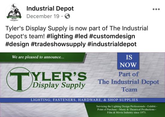 Tyler's Display Supply