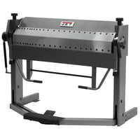 "PBF-1650D 50"" x 16 Gauge Dual Sided Box & Pan Brake with Foot Clamp"