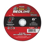 6in x .045 x 7/8in, Cut-Off Wheel Redline