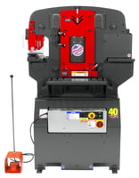 40 Ton Ironworker 3 Phase, 230 Volt with PowerLink