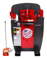 50 Ton Ironworker Int'l - 3 Ph, 380 V, 50 Hz with PowerLink