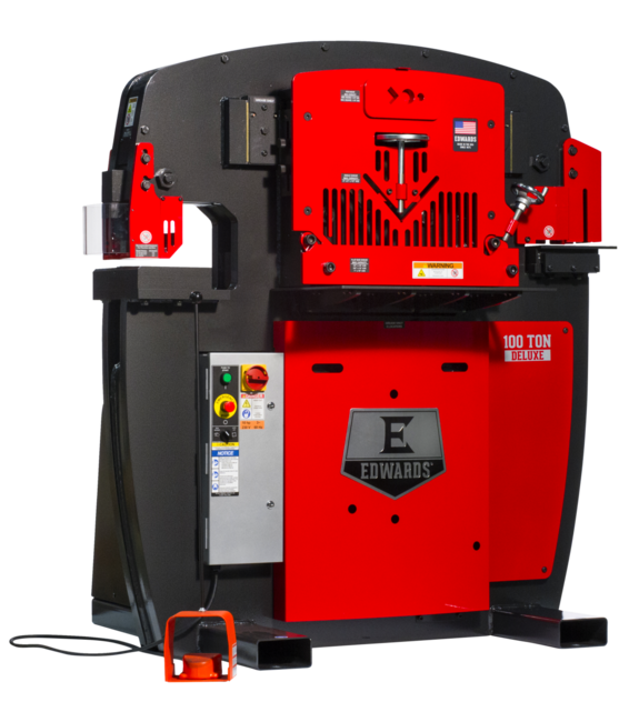 100 Ton Deluxe Ironworker without PowerLink System