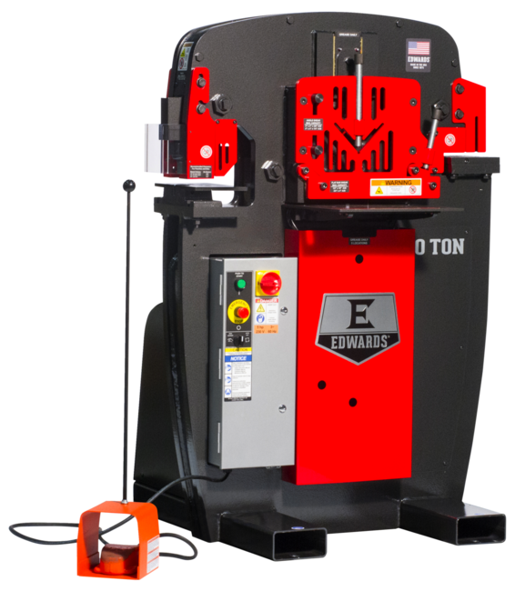 50 Ton Ironworker without PowerLink System