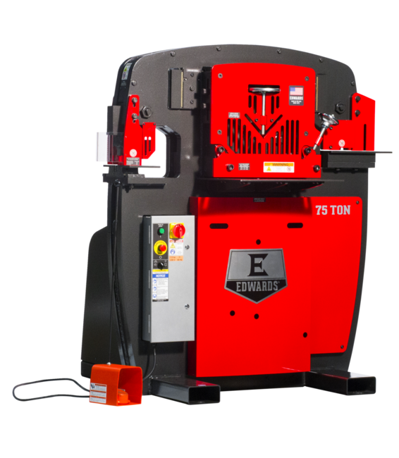 75 Ton Ironworker without PowerLink System
