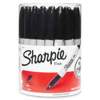 SHARPIE BLACK MARKERS 36 CT