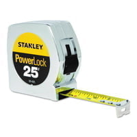 "Powerlock® Tape Rules 1"" Wide Blade, 1 in x 25 ft"