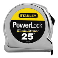 "Powerlock® Tape Rules 1"" Wide Blade w/BladeArmor™, 1 in x 25 ft"