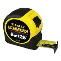 FatMax Reinforced w/Blade Armor Tape Rules, 1 1/4 in x 26 ft