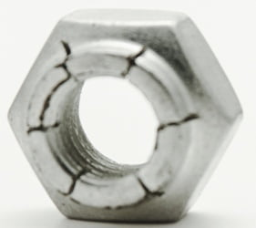 6 32 Flexloc Light Full 21fa 632 Locknut Steel Cad