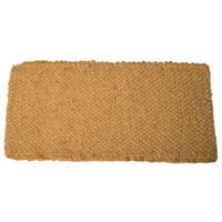 Coco Mats, 22 in Long, 36 in Wide, Natural Tan