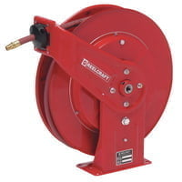 Heavy Duty Spring Retractable Hose Reels, 3/8 in x 50 ft