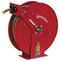 Gas Welding Hose Reel, 1/4 in x 100 ft
