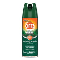 OFF! Deep Woods Insect Repellents, 6 oz Aerosol