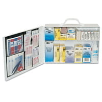 100 Person Industrial First Aid Kits, Steel