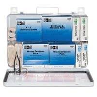 50 Person Industrial First Aid Kits, Weatherproof Steel