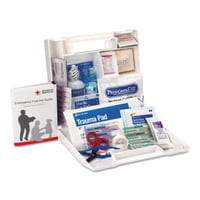 25 Person First Aid Kits, Contractors/Fleet Vehicles/Worksites, Plastic