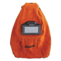 WH20 860P Leather Welding Helmet, Green; #10, Red, 860P, 2 in x 4 1/4 in