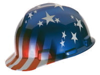 Freedom Series Helmets, Fas-Trac Ratchet, Cap, American Stars  Stripes