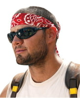 Chill-Its 6700 Evaporative Cooling Bandanas, 8 in X 13 in, Red Western
