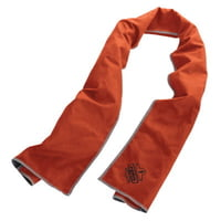 Chill-Its 6602MF Evaporative Micro-Fiber Cooling Towels, Orange/Gray