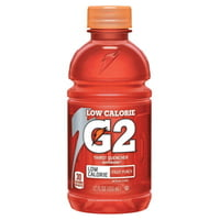 G2 Low Calorie Thirst Quencher, Orange, 12 oz, Bottle