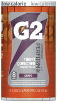 G2 Powder Packets, Grape, 0.52 oz, Packet