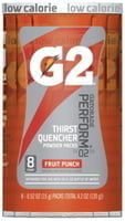 G2 Powder Packets, Fruit Punch, 0.52 oz, Packet