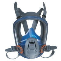 Advantage 3200 Full-Facepiece Respirator, Large, Silicone, Particles and Gases