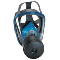 Chin-Type Gas Mask, Medium, Silicone, Particles, Vapors and Gases