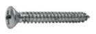 Phillips Oval Sheet Metal Screw