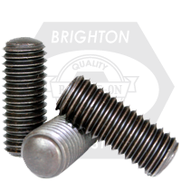 Coarse Thread Socket Set Screw Oval Point