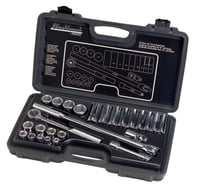 26 Piece Standard Socket Sets, 1/2 in, 6 Point, 12 Point