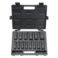 Deep Impact Socket Sets, 1/2 in, 6 Point