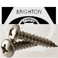 "FT #12 x 3//4/"" Sheet Metal Screw Phil Pan Hd Type A Stainless Steel"