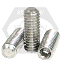 Stainless Steel Socket Set Screw Flat Point