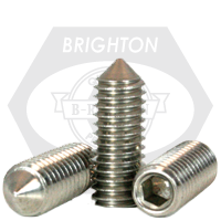 Stainless Steel Socket Set Screw Cone Point