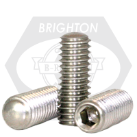 Stainless Steel Socket Set Screw Oval Point