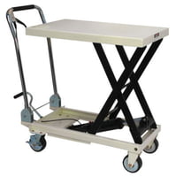 SLT-330F, Scissor Lift Table, Folding Handle, 330-lb. Capacity