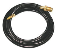 Tig Power Cable, For 150; 150V; 17; 17F; 17V; 9; 9F; 9P; 9V Torch, 25 ft, Rubber