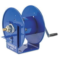 Challenger Hand Crank Welding Cable Reels, 100 ft, 1/0 AWG, Hand Crank Cable