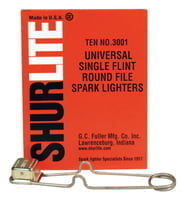 322-3001 Spark Lighters, Universal Round Lighter
