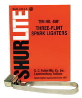322-4501 Spark Lighters, Tri-Flint Lighter