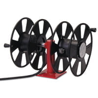 250 AMP Arc Weld, Dual Weld, Side-by-Side w/out Cable Hose Reel,24ft,150ft Cable