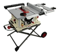 "JBTS-10MJS, 10"" Bench Top Jobsite Tablesaw with Retractable Stand"