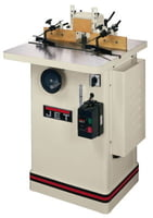 "JWS-25CS, Shaper, 3HP 1PH 230V, 1/2"" & 3/4"" Spindles"